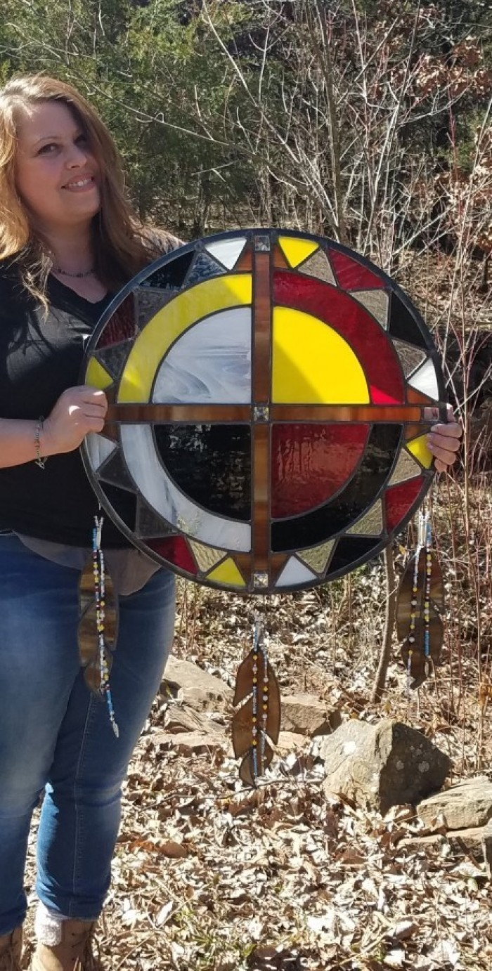 2018 Medicine Wheel  donation for Dance of Two Moons