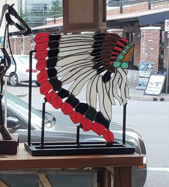 Headdress with Custom build stand Available for purchase