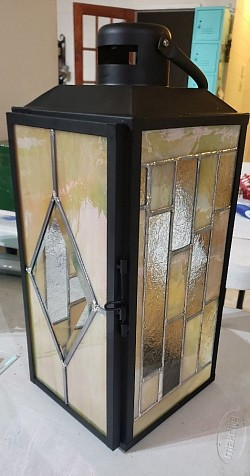 Stained Glass Lantern Available for purchase